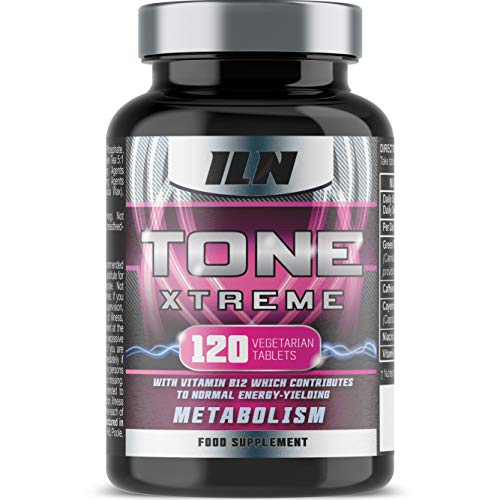 Tone Xtreme Tablets – Toning Supplement for Women with Green Tea, Caffeine and Niacin (120 Vegetarian Tablets)