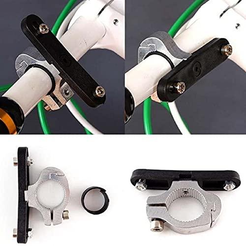 GLADMIN Tenedor de la Taza de Bicicleta Universal Bebidas Bebidas para la Bicicleta Taza de Agua Montaje del Manillar Montaje Antideslizante Liner Antideslizante Aleación de Aluminio Duradero