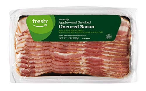 Fresh Brand – Applewood Smoked Uncured Bacon, 12 oz