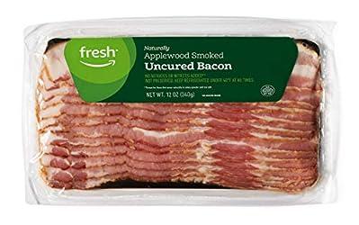 Fresh Brand – Applewood Smoked Uncured Bacon, 12 oz