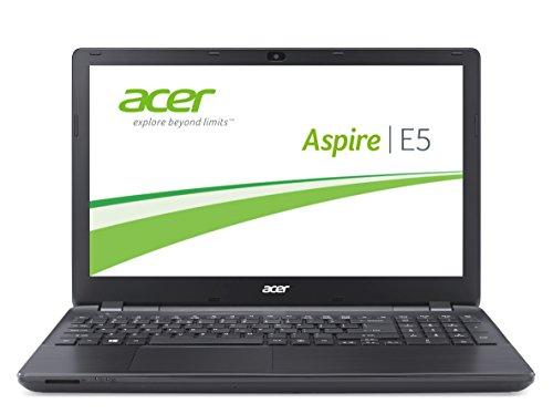Acer Aspire E5-571-36CL 39,6 cm (15,6 Zoll) Laptop (Intel Core i3 4030U, 1,9GHz, 4GB RAM, 1000GB HDD, Intel HD 4400, DVD, Win 8.1) schwarz