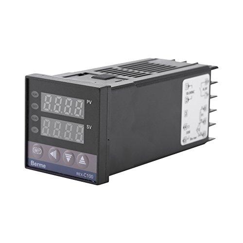0 ℃ ~ 1300 ℃ Allarme REX-C100 digitale intelligente termostato LED PID regolatore di temperatura Kit AC110V-240V