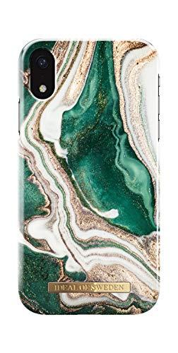 iDeal Of Sweden Handyhülle für iPhone XR (Golden Jade Marble)