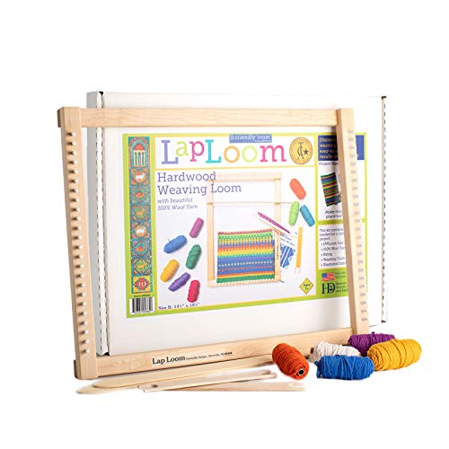Harrisville Designs Lap Loom Kit, Hand Weaving for Kids and Adults (Style B)