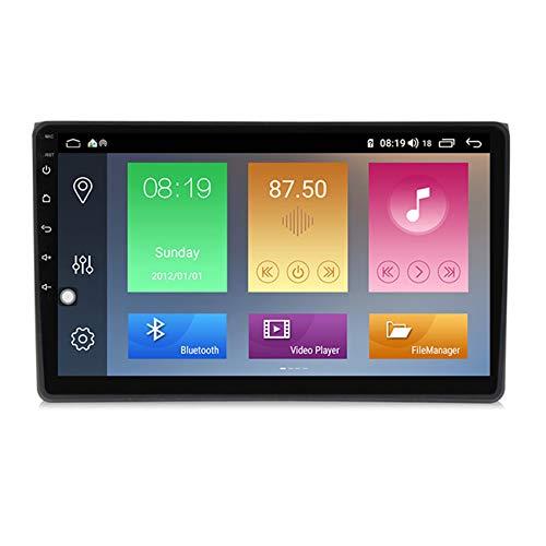 ADMLZQQ Car Audio Estéreo Reproductor MP5 para Audi A4 2000-2008 USB FM Teléfono Android 9.0 Multimedia Radio cámara de visión Trasera con Control del Volante,M600 6+128g