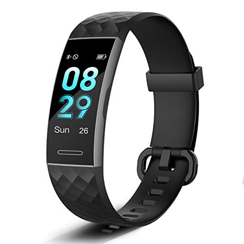 Letsfit Fitness Trackers with Heart Rate Monitor Waterproof, Calorie Counter Pedometer Activity Tracker Watch Step Counter Sleep Monitor, Color Screen IP68 Waterproof for Women Men