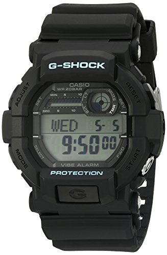 Casio Men's G-Shock GD350-1C Black Resin Sport Watch