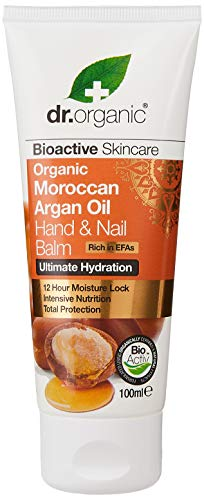 Dr. Organic Argan Baume pour les mains et les ongles 100 ml