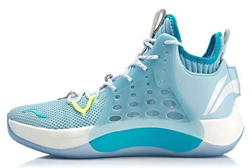 LI-NING CJ McCollum Sonic Ⅶ Men Professional Basketball Shoes Light Foam Breathable Lining Sport Shoes Sneakers Blue ABAP019 US 10.5