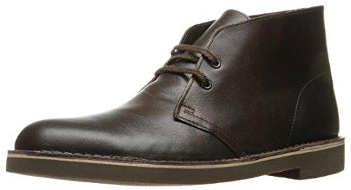 Clarks Men's Bushacre 2 Chukka Boot, Chocolate, 8 M US