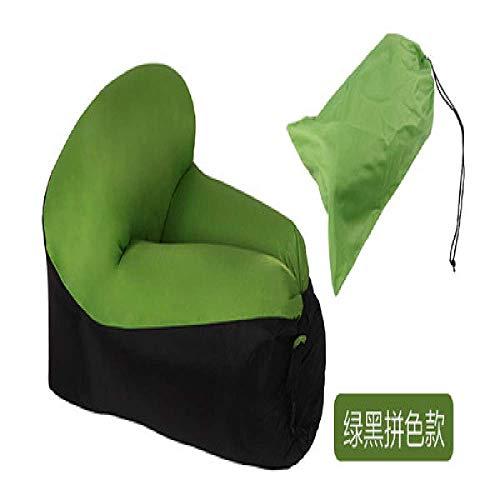 Sofá cama inflable rápido sofá cama camping muebles saco de dormir perezoso y aire playa silla asiento cojín al aire libre