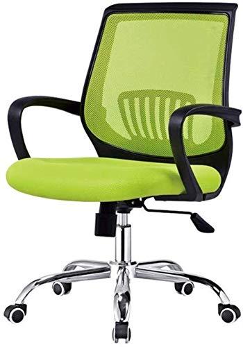 Silla de la silla de la silla del juego Silla de juego, silla ergonómica de escritorio ajustable con soporte lumbar y malla transpirable - Cojín de asiento grueso - Altura del asiento - Recline silla
