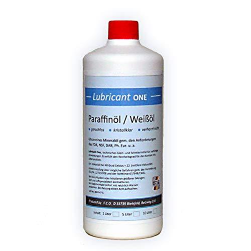Paraffinum Liquidum (1 Liter) Paraffinöl, med. Qualität (Ph.Eur.), hochreines Universalöl
