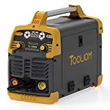 TOOLIOM 200A MIG Welder Dual Voltage 3 in 1 Flux Cored/Solid Wire/Lift Tig/ Stick Welder 110/220V Welding Machine