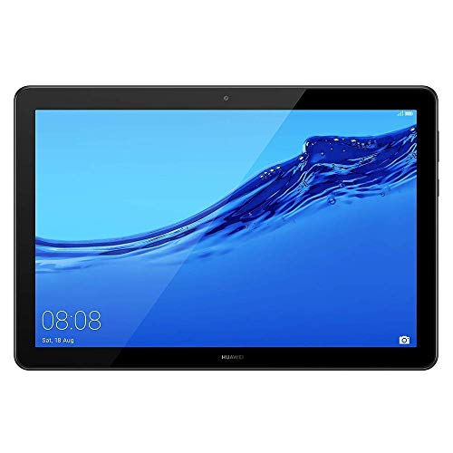 Huawei Media Pad T5 Tablet 25,7 cm (10,1 Zoll) Full HD (Android 8.0, EMUI 8.0, 16GB) schwarz Wifi RAM DE 2 GB Schwarz