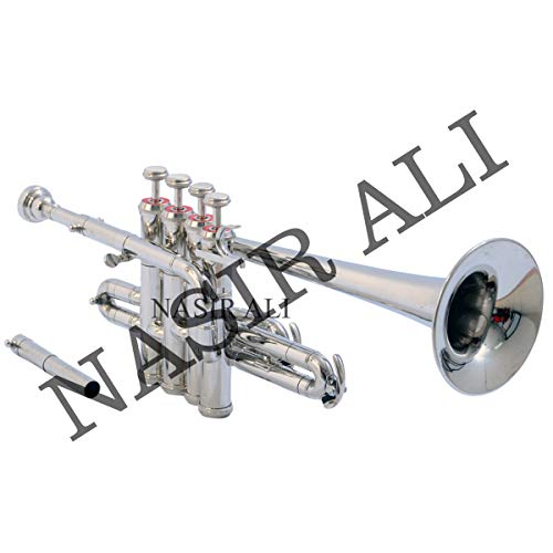 Nasir Ali Piccolo Trumpet Bb Pitch Nickel