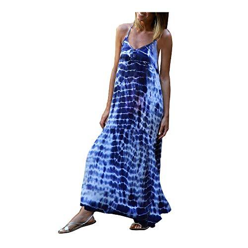 Vestidos Mujer Casual Verano Largo - Vestidos Mujer Boho Chic - Vestidos de para Mujer Elegantes Largos Tallas Grandes