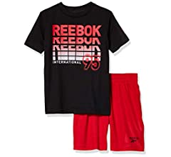 Young Boys REEBOK T,shirt and Short set ages 3//4 4//5 5//6 7//8 13//14