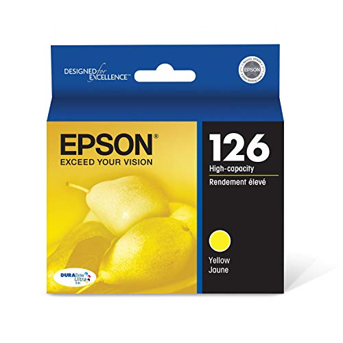 Epson T126420 DURABrite Ultra Yellow High Capacity Cartridge Ink
