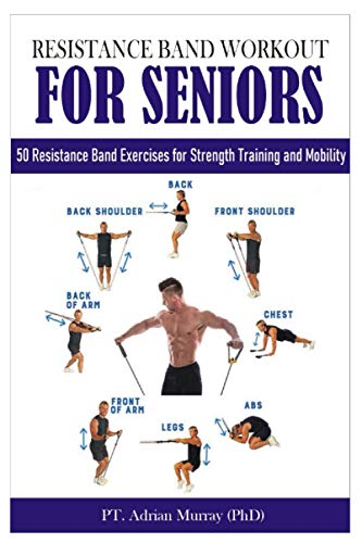 RESISTANCE BAND WORKOUT FOR SENIORS: 50 Resistance Band Exercises for Strength Training and Mobility