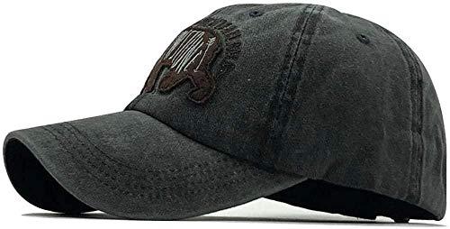 Sports Cap/Baseball Cap/Sunhats Men's Washed Cotton Snap Back Hat Men's Women's Hat Dad Embroidered Bear Letter Casual Cap Casquette Hip Hop Hat