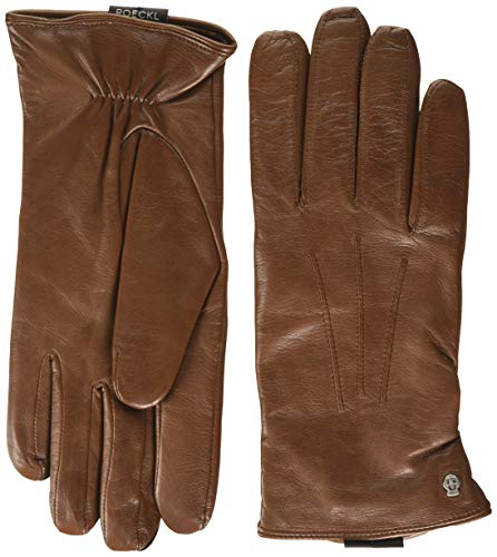 Roeckl Herren Riga Handschuhe, Saddlebrown, 9