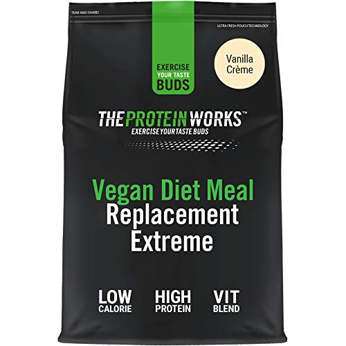 Vegan Diet Meal Replacement Extreme | Low Calorie, Weight Loss Shake | Essential Vitamins & Minerals | THE PROTEIN WORKS | Vanilla Crème | 2kg