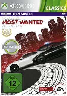 Need for Speed Most Wanted 2012 X-Box 360.