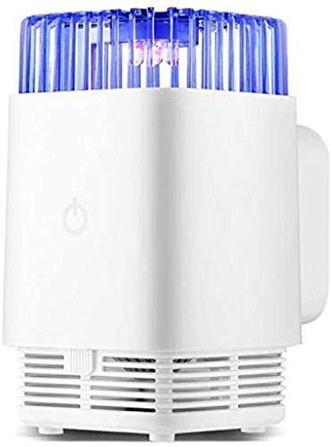 XBSLJ Ledlamp, anti-muggenval, mini-insectenval, inhalator, catcher voor binnen, slaapkamer, keuken, tuin, gebruik op kantoor