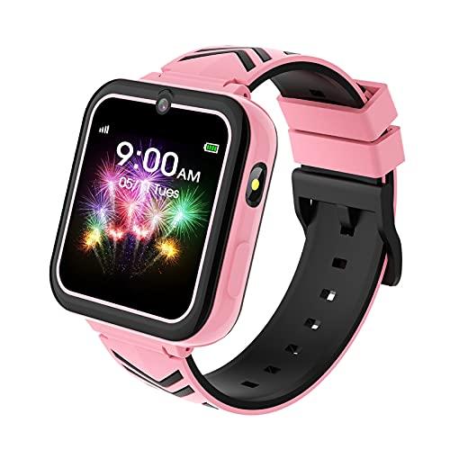Smartwatch Bambino, Touchscreen Smartwatch con Gioco, SOS Chiamata