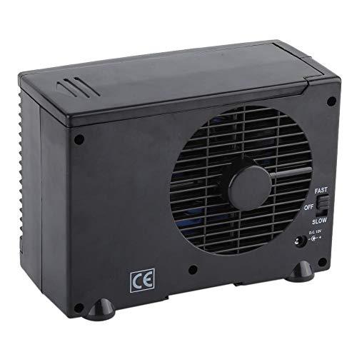 Pezakih Ventilador de Aire Acondicionado evaporativo, Carcasa de ABS 12V Mini Ventilador de Aire Acondicionado fácil de operar para el hogar para el automóvil