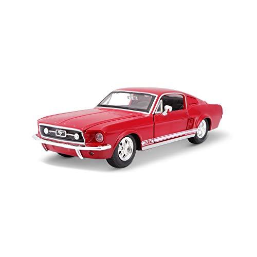 Maisto 531260 Ford Mustang GT ´67 Modellauto im Maßstab 1:24, farblich Sortiert
