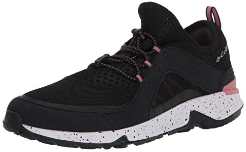 Columbia Women's Vitesse Slip Hiking Shoe, Black/Canyon Rose, 9