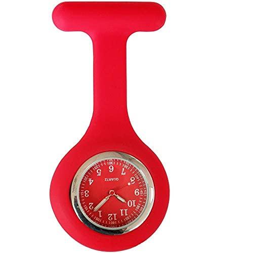 LLRR Reloj Médico de Bolsillo,Los nuevos Doctores del diseño Colorido cuidan el Reloj del silicón, Reloj-podredumbre médico del Bolsillo del Mando,Reloj de Bolsillo,Regalo para Enfermera