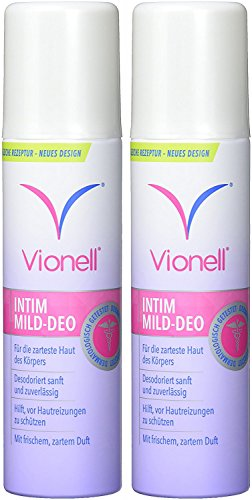 Vionell Mild Deo Spray 2X150ml NEW