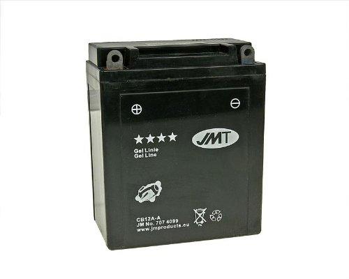 Batterie JMT GEL Line jmb12a-a für Honda CB 350F Four (1973–1974)