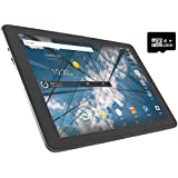 "ZTE K92 Primetime 10.1"" Tablet (32GB, WiFi + Cellular + GPS) Full HD Display, Snapdragon 625, Hotspot, 4G LTE GSM Unlocked (128GB SD Bundle) Navy"