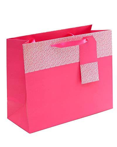 Geschenktüte zum Geburtstag Rosa Geschenktüte