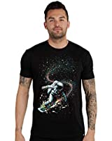INTO THE AM Black Diamond Men's Graphic T-Shirt (Black, X-Large)