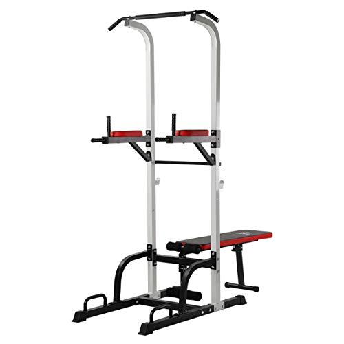 WASAI(ワサイ) ぶら下がり健康器 マルチ筋肉トレーニングマシーン 懸垂マシン ベンチプレス (耐荷重150kg) HD5005