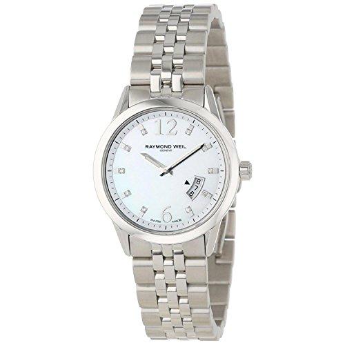 Raymond Weil 5670-ST-05985 - Reloj para Mujeres Color Plateado