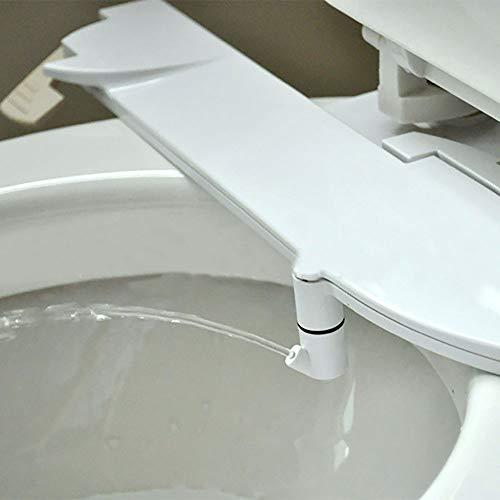 Nicht elektrisches Bidet für die Toilette, selbstreinigendes Düsenbidet, abnehmbarer Aufsatz für den Toilettensitz für den Desinfektions-T-Adapter für die hintere oder weibliche Wäsche