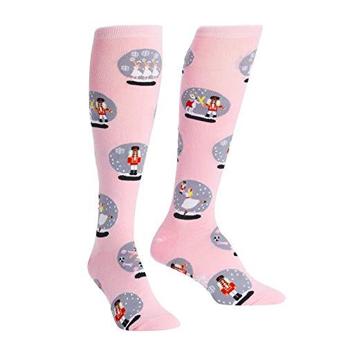Sock It To Me Womens Ballet Sweet Nutcracker Knee High Socks