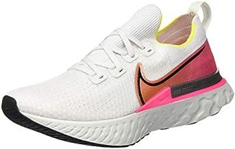 Nike Women's Jogging Cross Country Running Shoe, Platinum Tint Black Pink Blast, 6.5 us