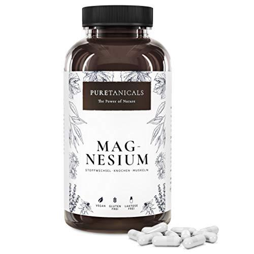 Magnesio Premium - 400mg ELEMENTARE (puro) Magnesio per Dose - 664mg di Polvere per Capsula - Dosate e Testate in Laboratorio, Vegano, Senza Magnesio Stearato, Prodotto in Germania - 365 Capsule