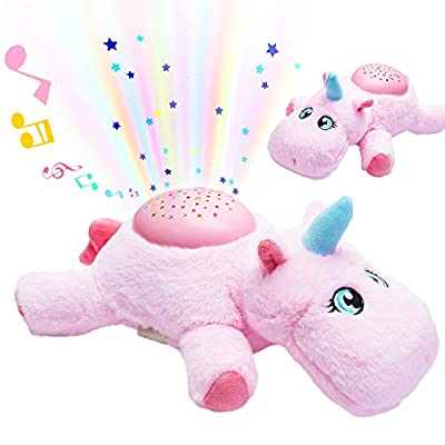 oqpa Shusher Baby Sleep for Newborns and Up, New Baby Soother Shushers Susher Toys Cute Cartoon 3D Fun Funny Sweet Toddler Baby Shhhhhh Soothers Sleep Sound Machine for Babies - Lighting Unicorn from Shineyii