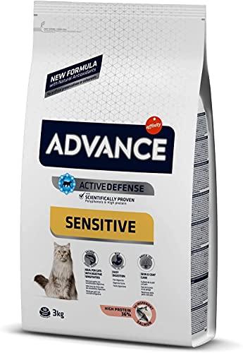 ADVANCE Sensitive Sterilized - Pienso para Gatos Esterilizados con Salmón - 10Kg