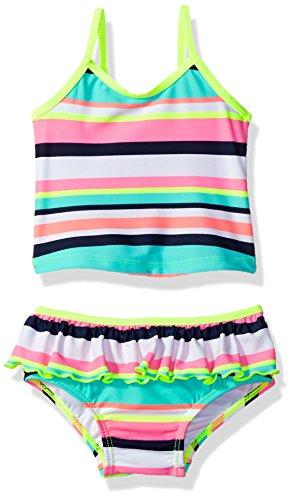 Carter's Baby Girls' Infant Striped Tankini Swimsuit Set, 12M