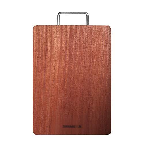 Grote keuken mes raad met houten handvat Flexible dubbele snijder board for vlees en fruit brood A chopping board (Size : 36x26x3cm)