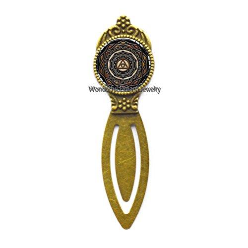 Nuovo specchio di Twilight segnalibro specchio di Twilight gioielli in vetro a cupola segnalibro Bookmarker , PU210 81 * 23MM Brass.